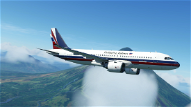 [8K] A320N Philippine Airlines Retro Livery [v.1.10.8 Compatible] Image Flight Simulator 2020