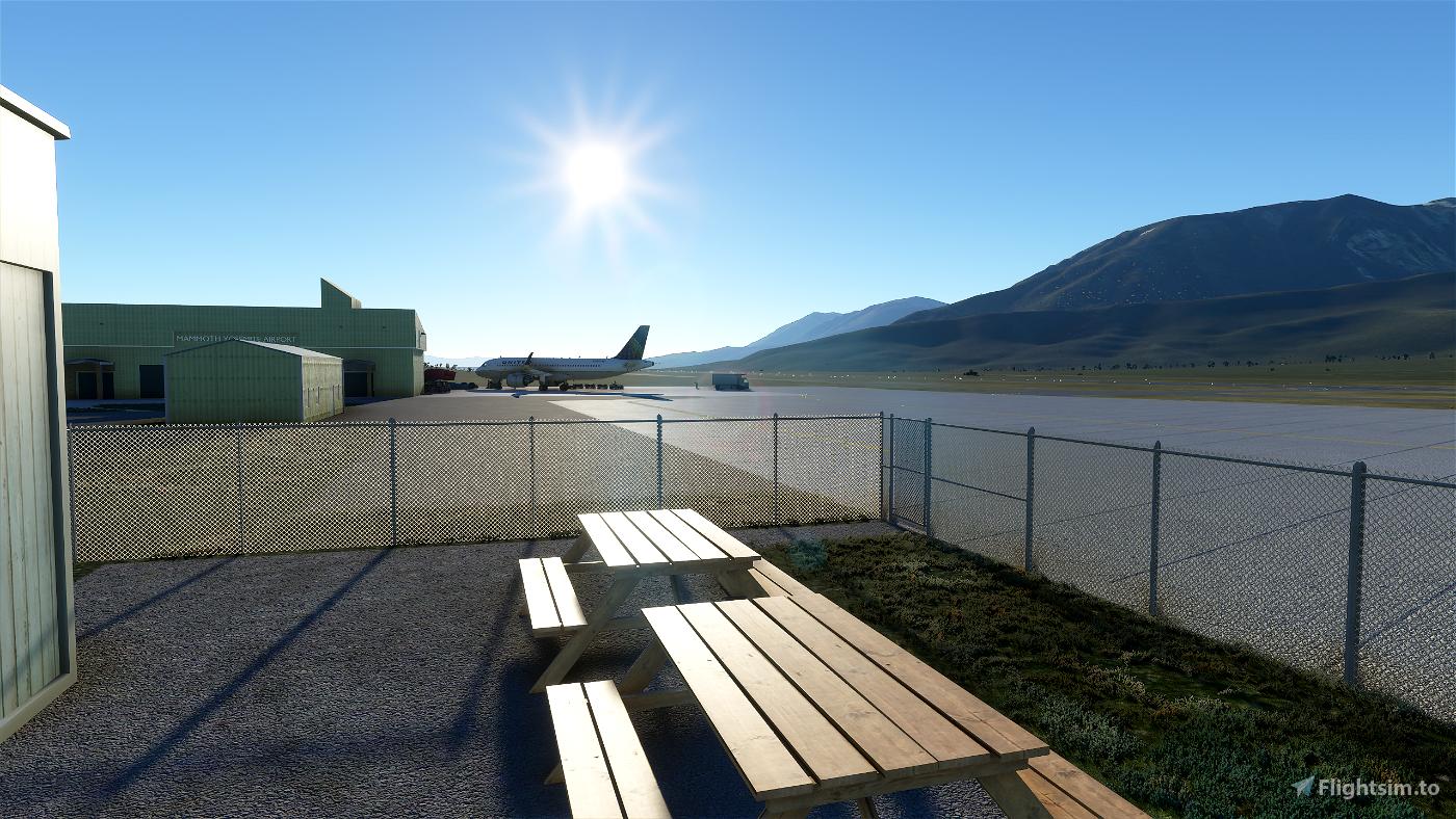 KMMH    Mammoth Yosemite Airport