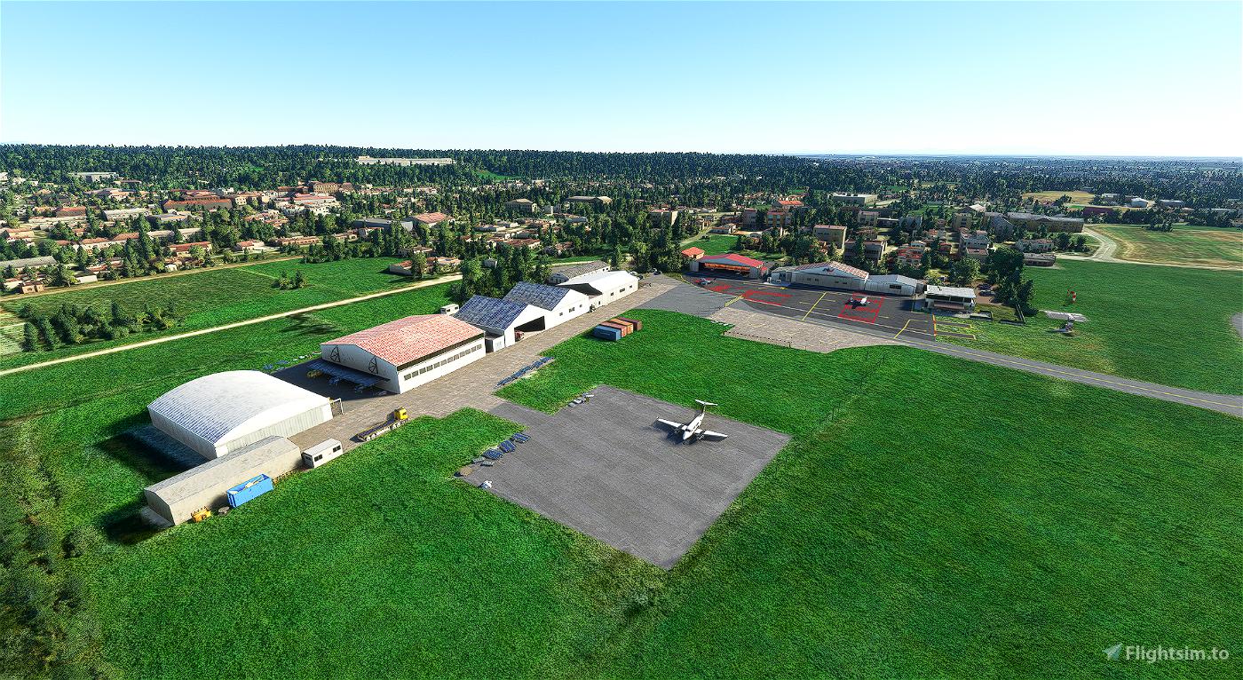 LILN Aeroporto di Venegono - Varese Microsoft Flight Simulator