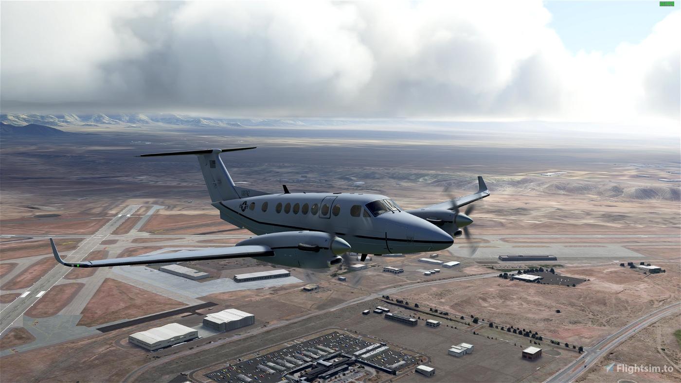 Asobo-KingAir350-USAF [Version 1.10.7.0]