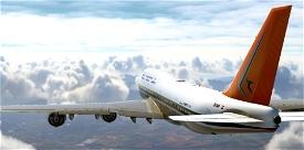 South African Airways Retro 747 Image Flight Simulator 2020