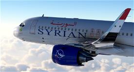 A320 Syrian Air | 4K Image Flight Simulator 2020