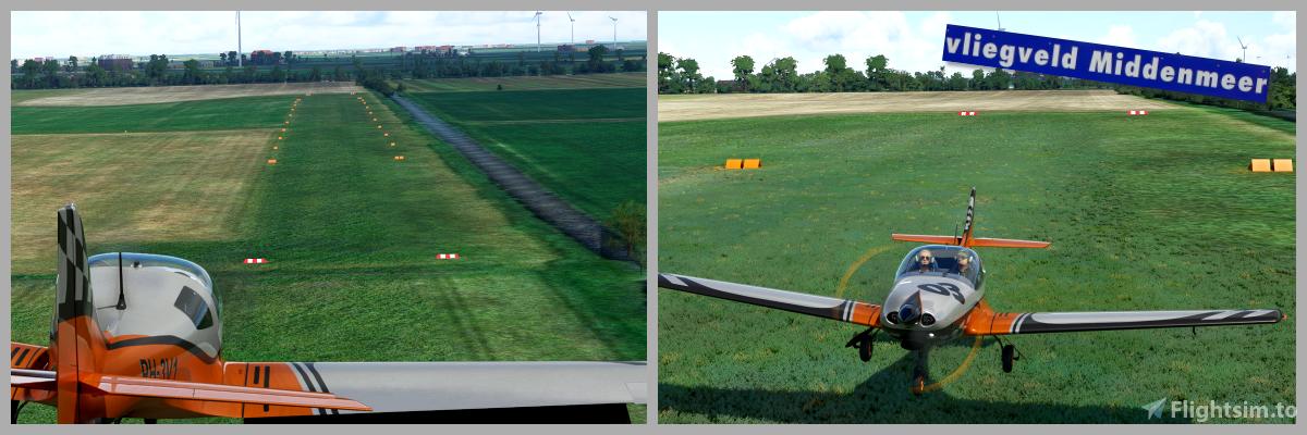 Middenmeer Aerodrome (Vliegveld Middenmeer)