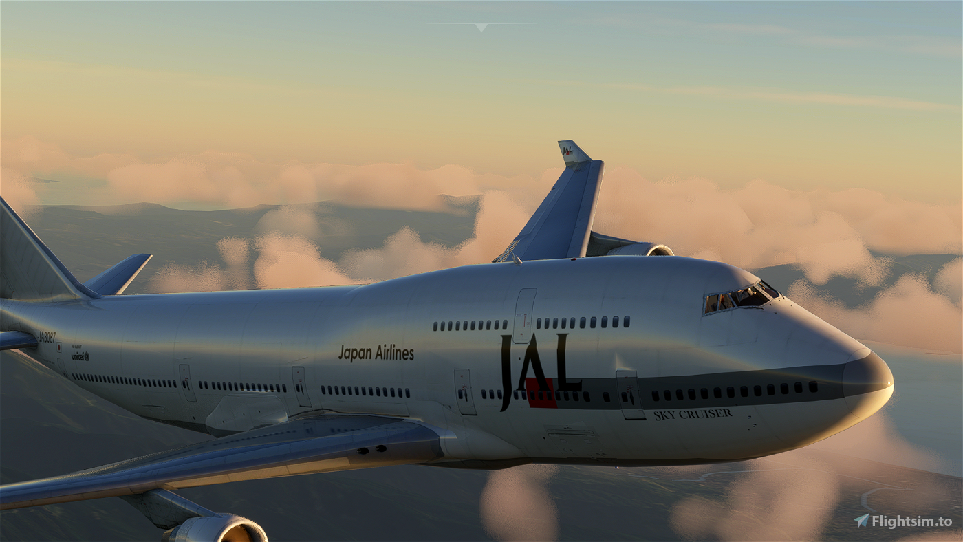 Boeing 747-400 JAL