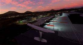 Luces del Aeropuerto de Lanzarote Microsoft Flight Simulator