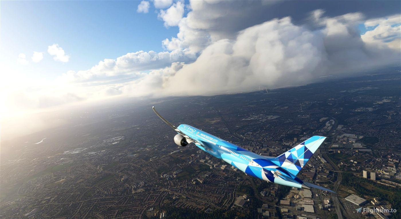Etihad 787-10 Manchester City Special Scheme A6-BND