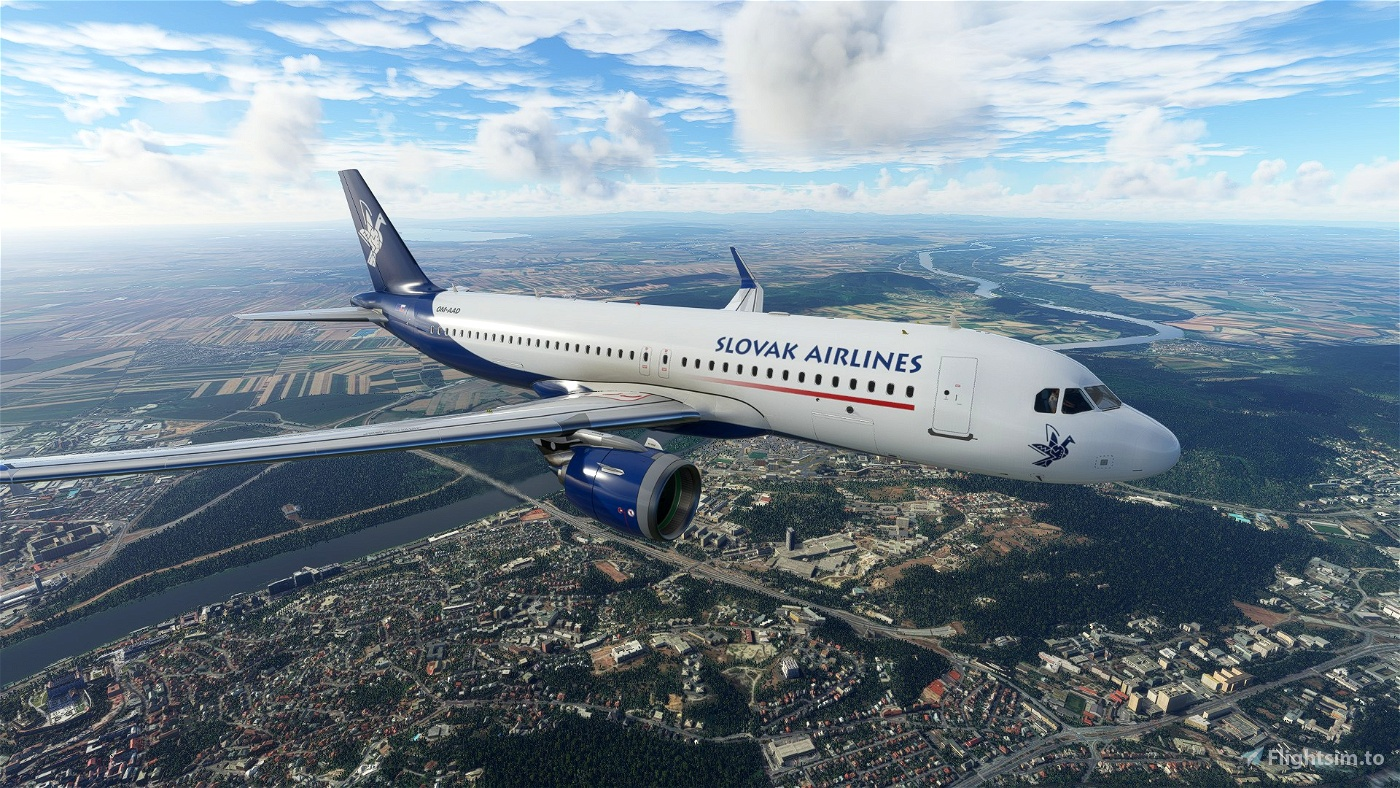 Slovak Airlines A320N Livery