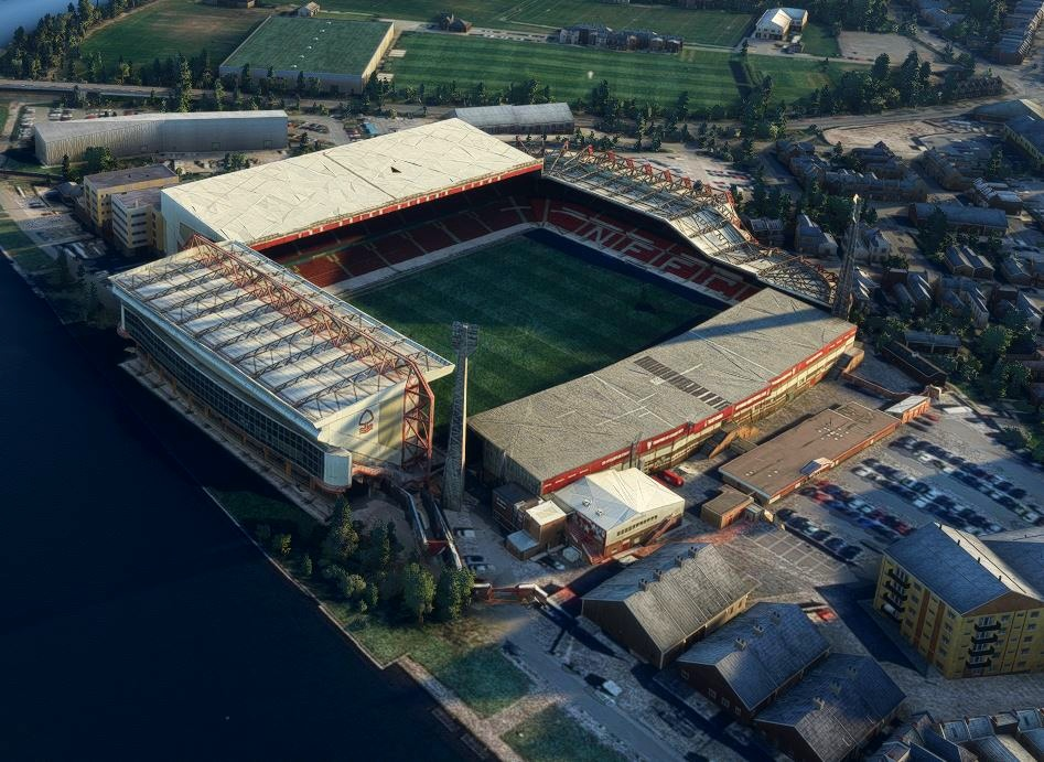 City Ground Nottingham
