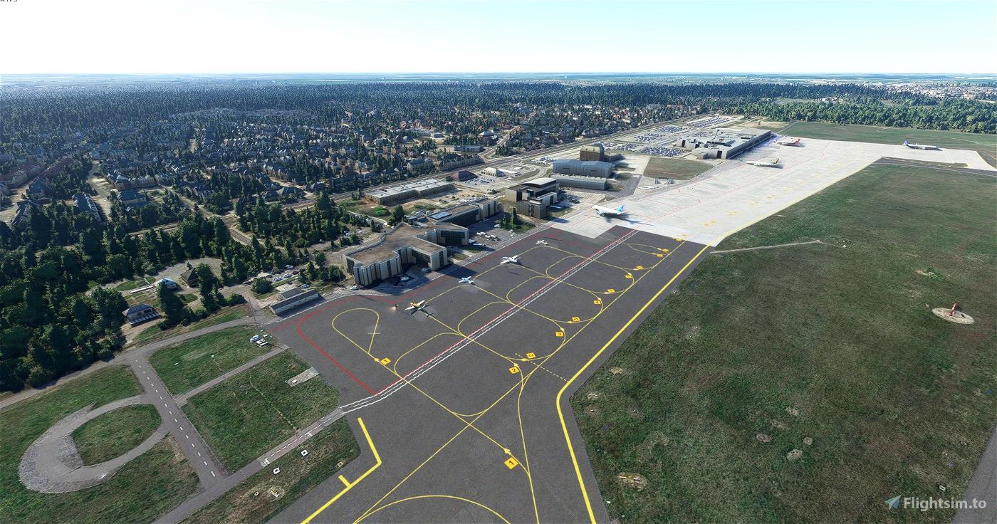 Poznań Ławica airport EPPO for FS2020 Microsoft Flight Simulator