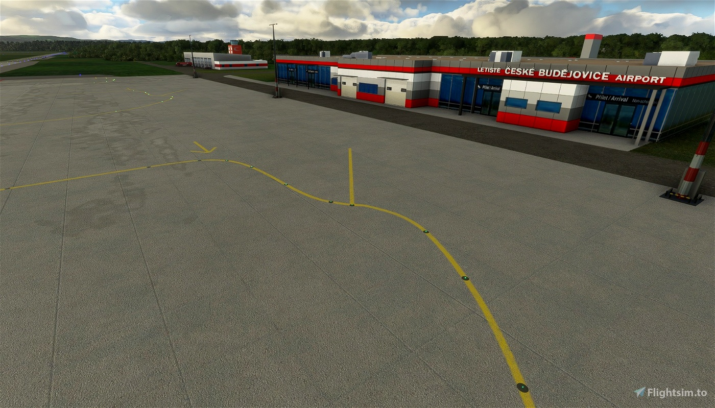 Ceske Budejovice Airport (LKCS) Microsoft Flight Simulator