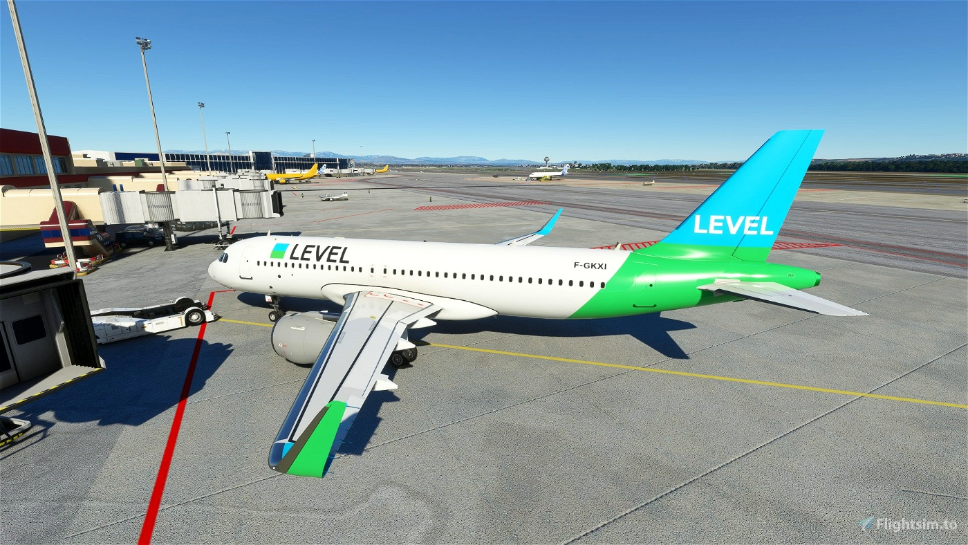 LEVEL A320N Livery Flight Simulator 2020
