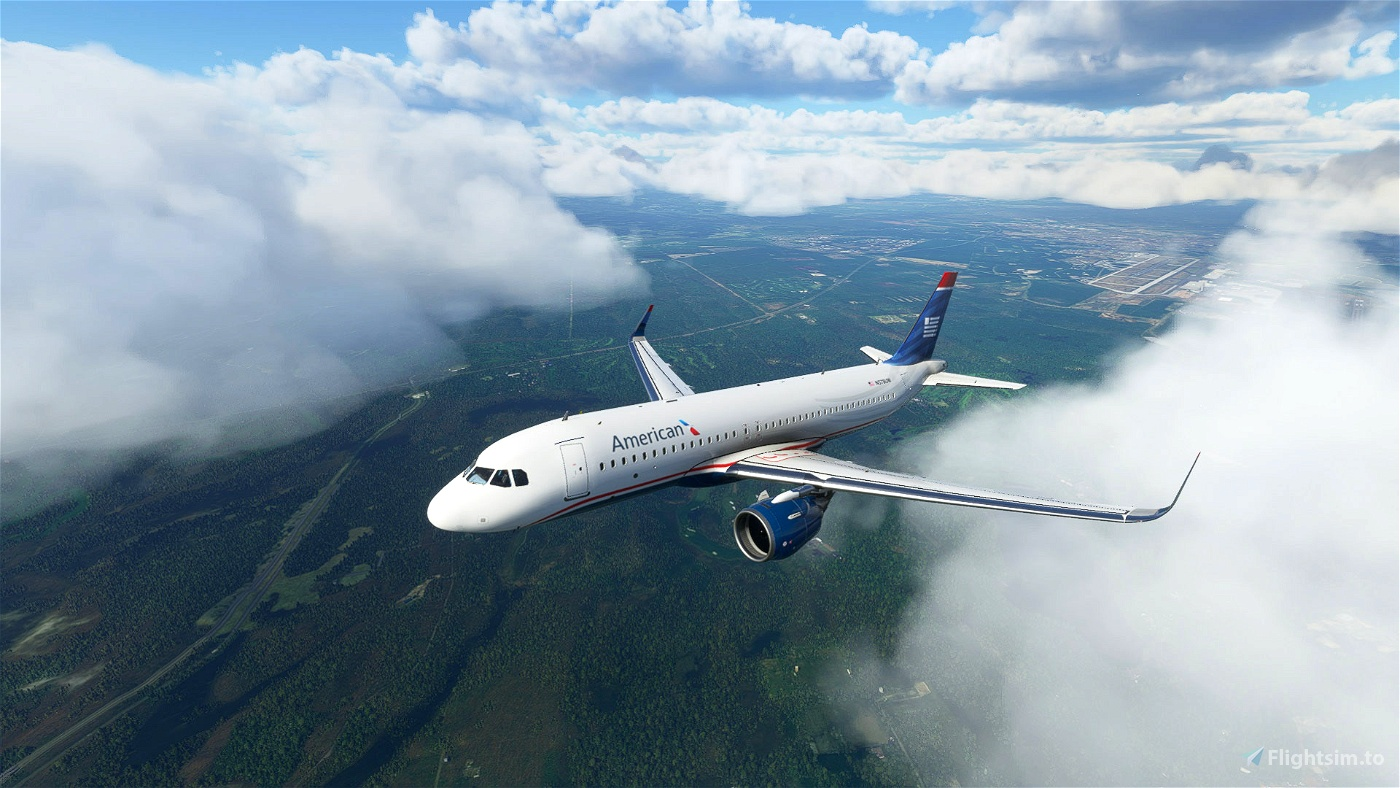 heritage of US Airways - American Airlines A320