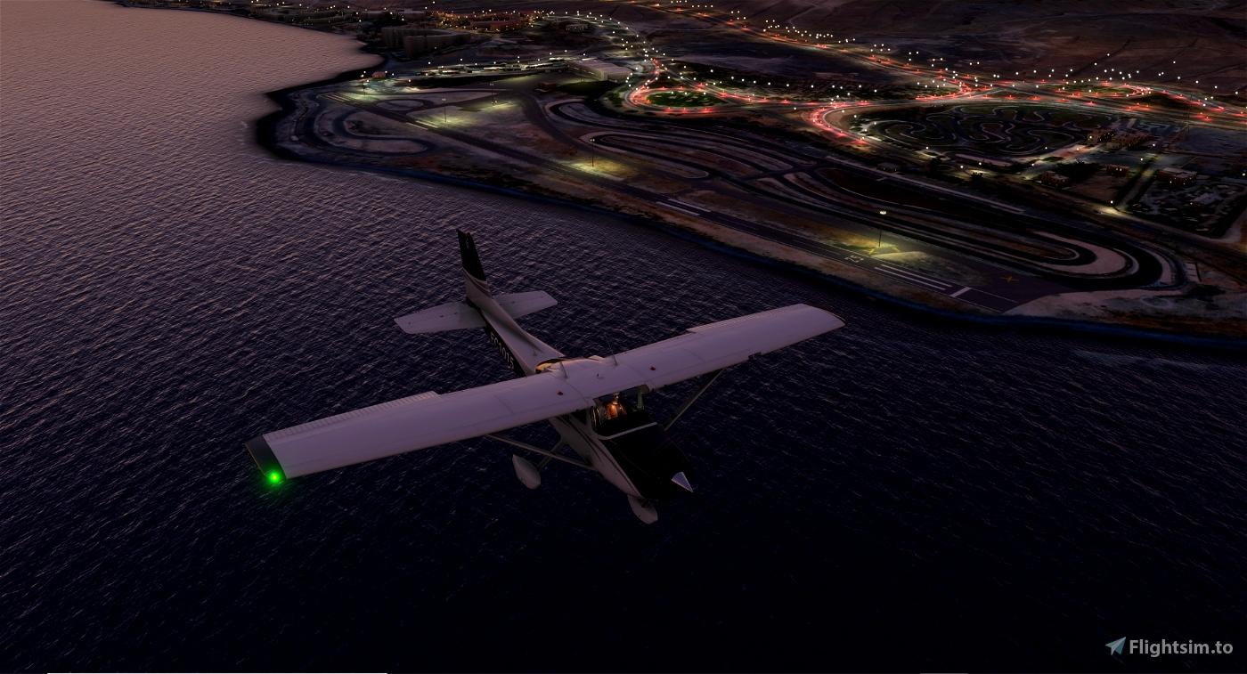 GCLB_V1 Luces en el Aerodromo de El Berriel ( Gran Canaria )  Microsoft Flight Simulator