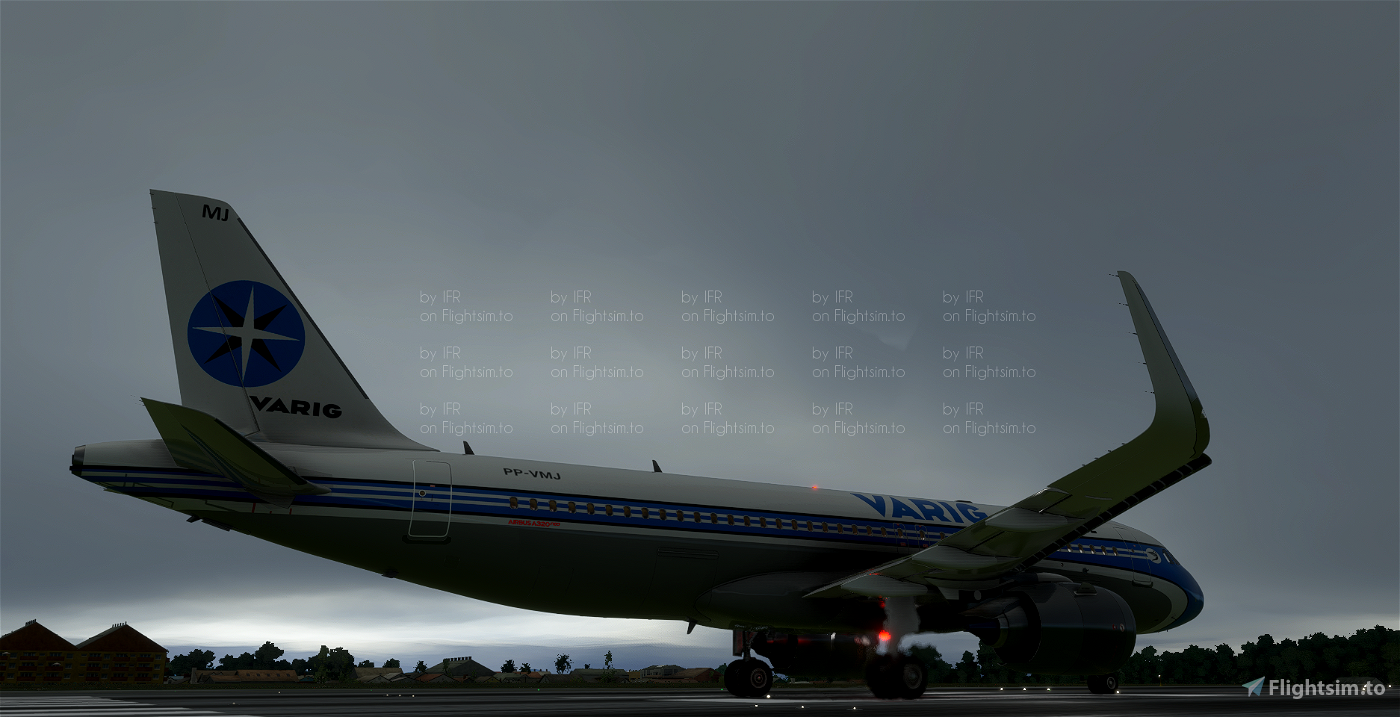 A320 Neo Varig (Fictional)