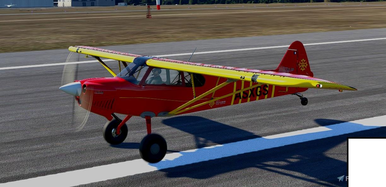 X-Cub Occitanie Flight Simulator 2020
