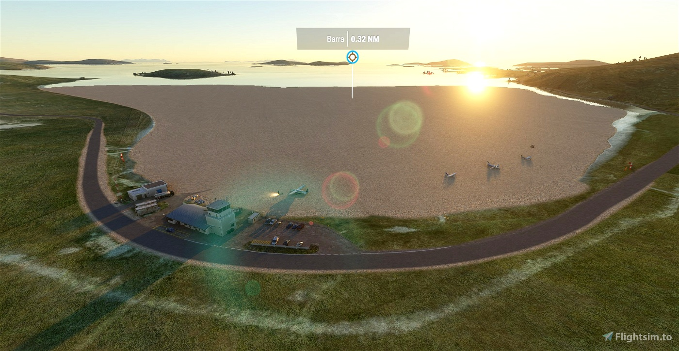 EGPR - Barra Airport - Outer Hebrides UK Flight Simulator 2020