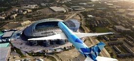Etihad 787-10 Manchester City Special Scheme A6-BND Image Flight Simulator 2020