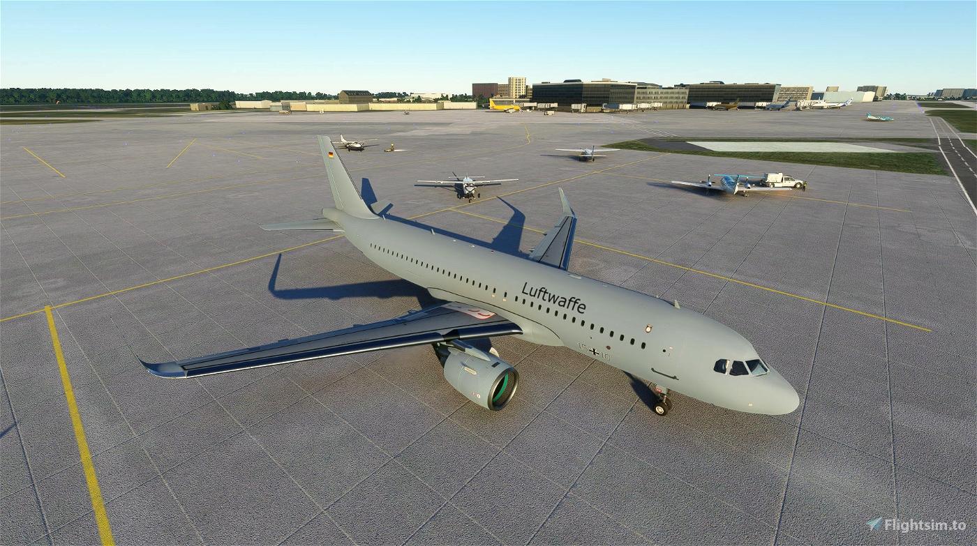 A320 German Airforce Livery Flight Simulator 2020