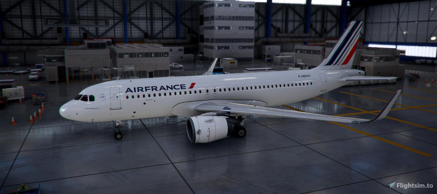 A320Neo Air France (based on F-HEPH) Flight Simulator 2020