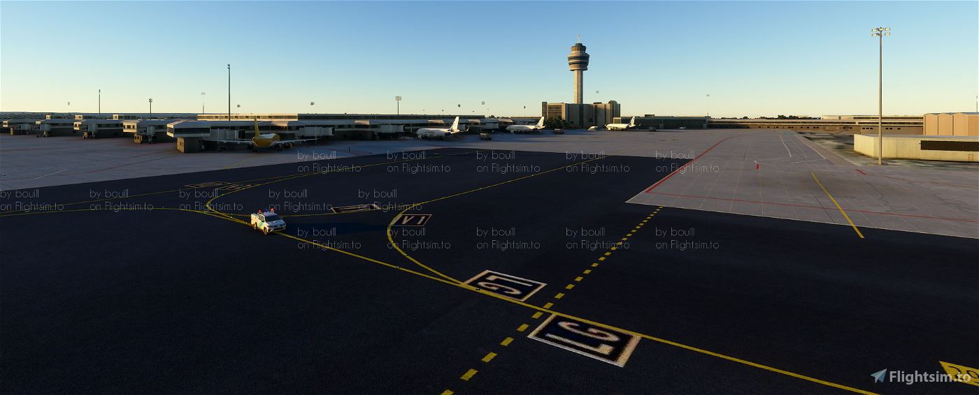 LEPA - Palma de Mallorca Airport [real ground]