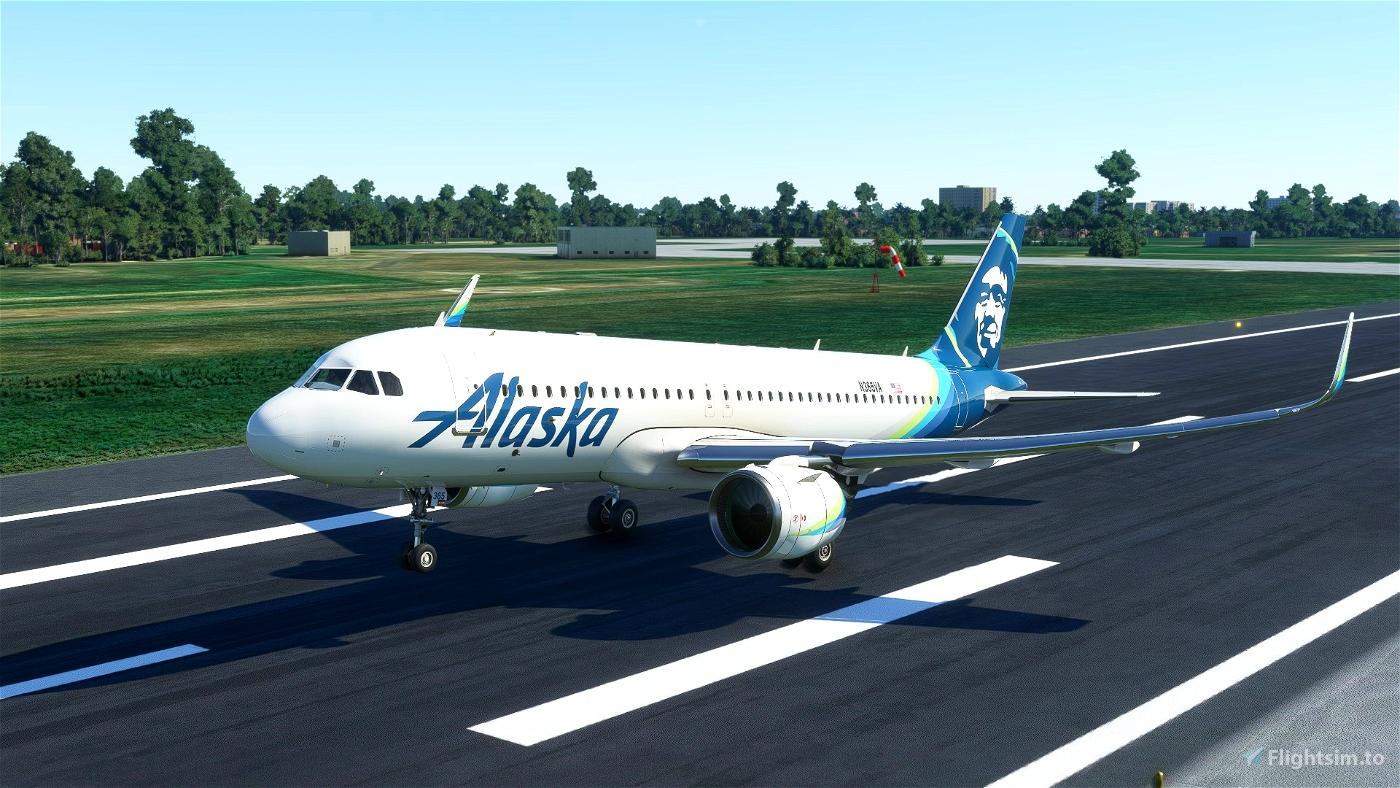 Alaska Airlines(8K)[N365VA] Flight Simulator 2020