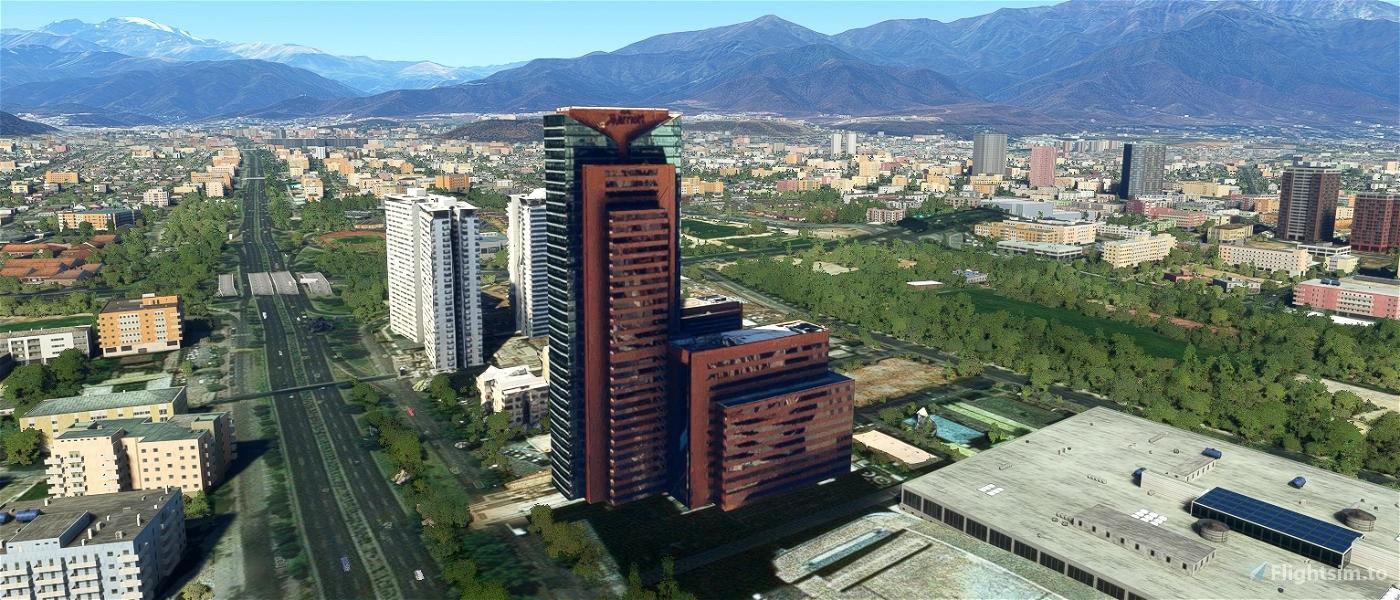 Hotel Marriott  Otros 3 edificios laterales - Santiago - Chile Microsoft Flight Simulator