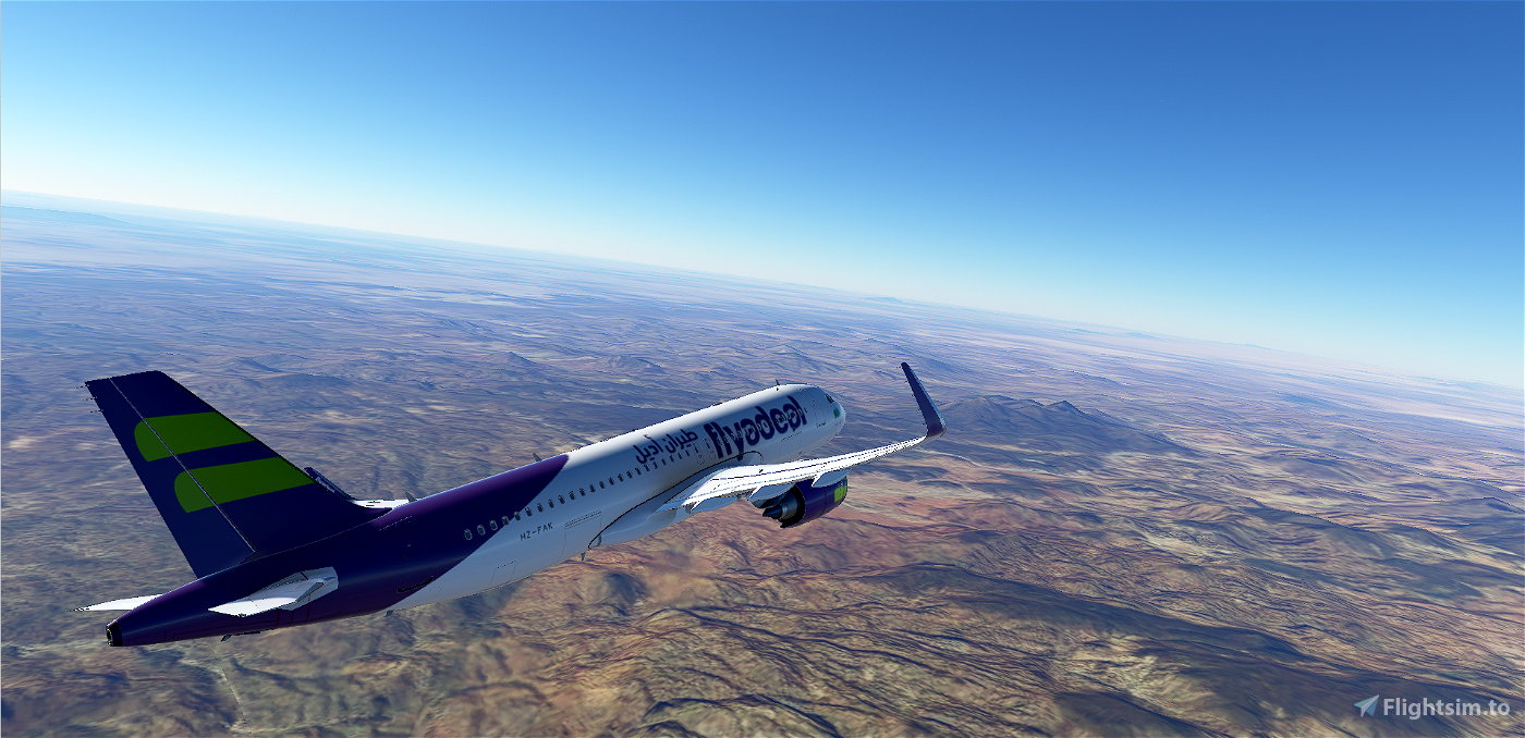 A320neo flyadeal (HZ-FAK)