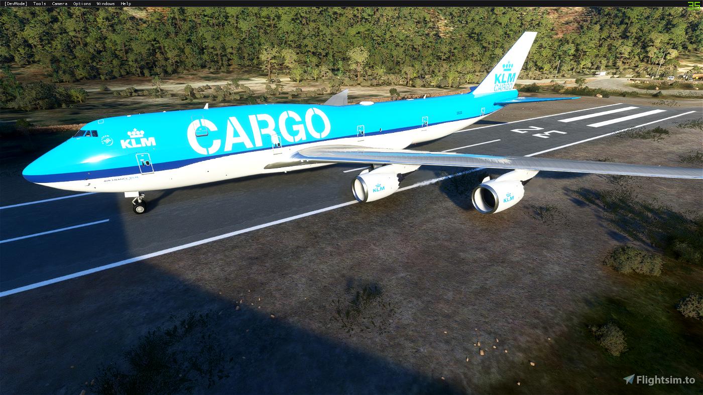 KLM Cargo (4K Livery) Flight Simulator 2020