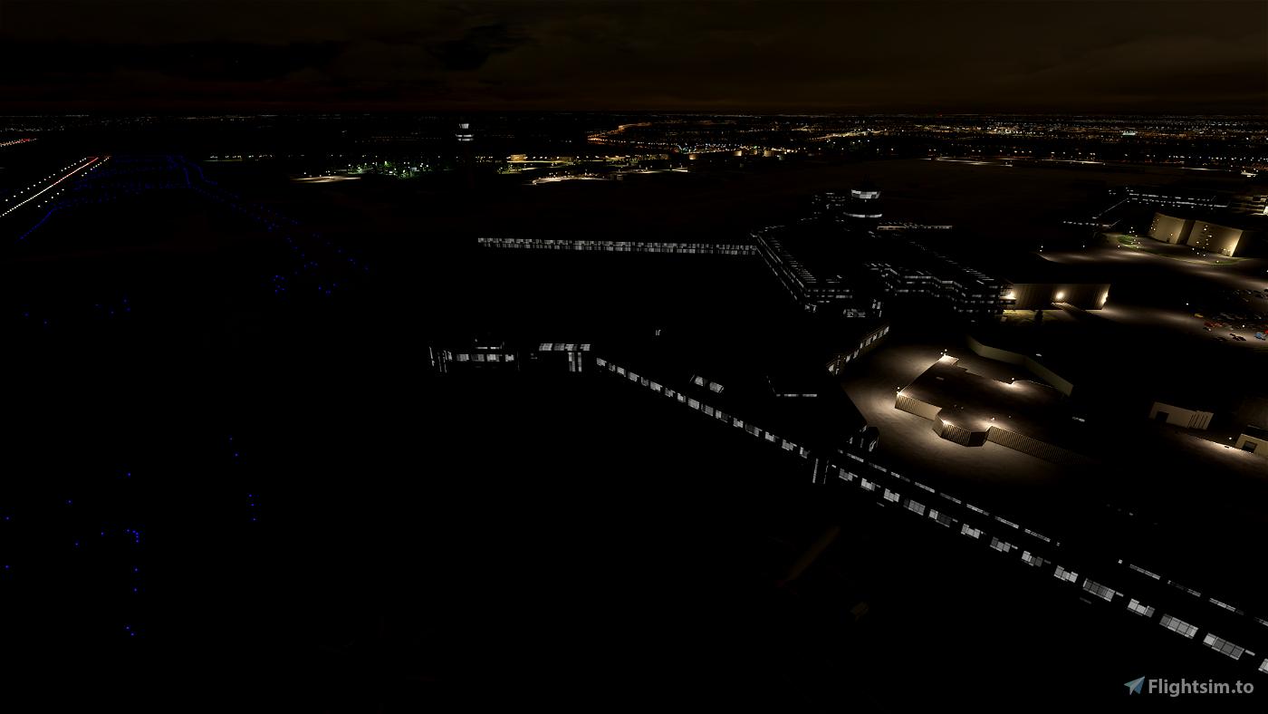EGCC Manchester Airport - Night Lighting Improvement