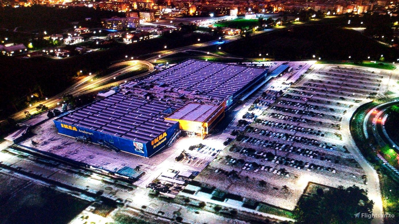 IKEA Napoli Microsoft Flight Simulator