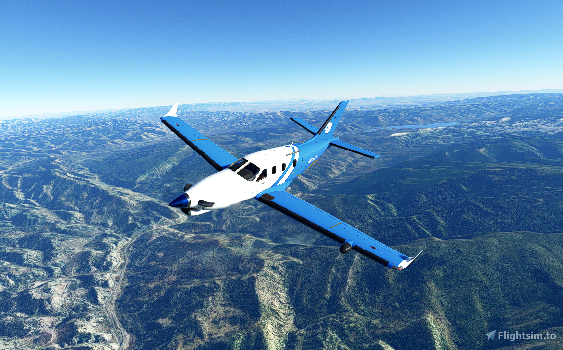 TBM 930 Neofly  Flight Simulator 2020