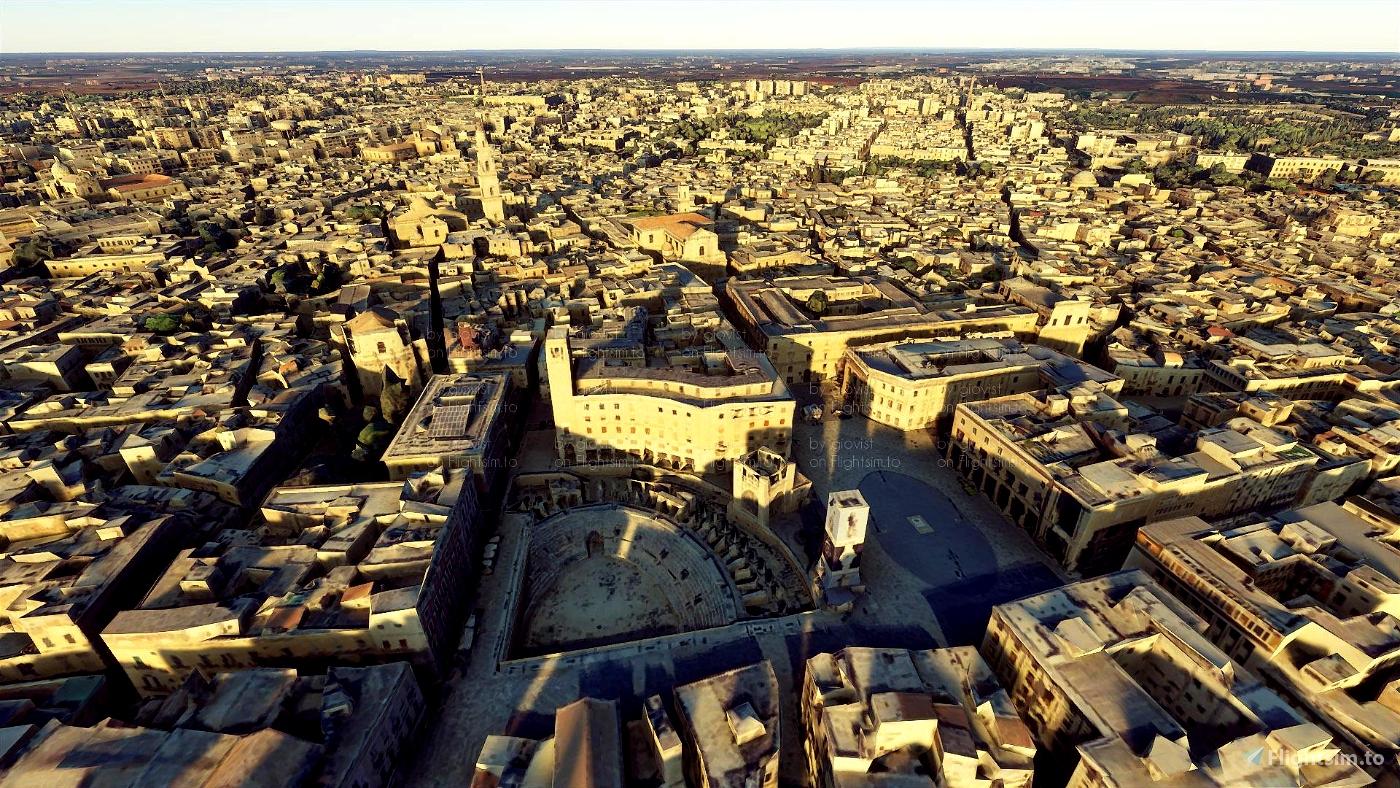 Italy - Lecce Microsoft Flight Simulator