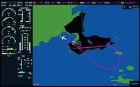 MSFS G3000 MFD Screen for Tablets Image Flight Simulator 2020