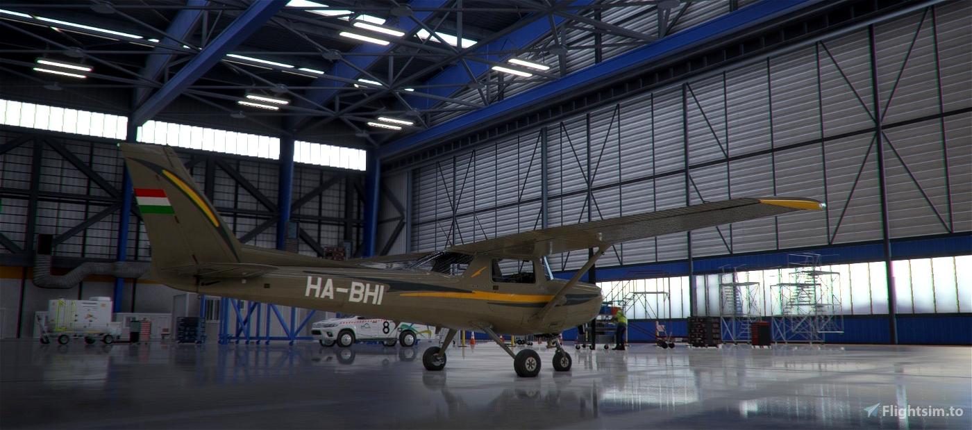 Cessna C-152 Malév Aero Club livery HA-BHI Flight Simulator 2020