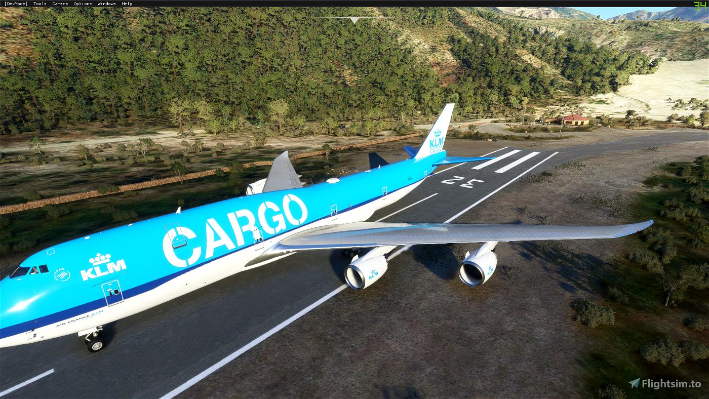 KLM Cargo (4K Livery)
