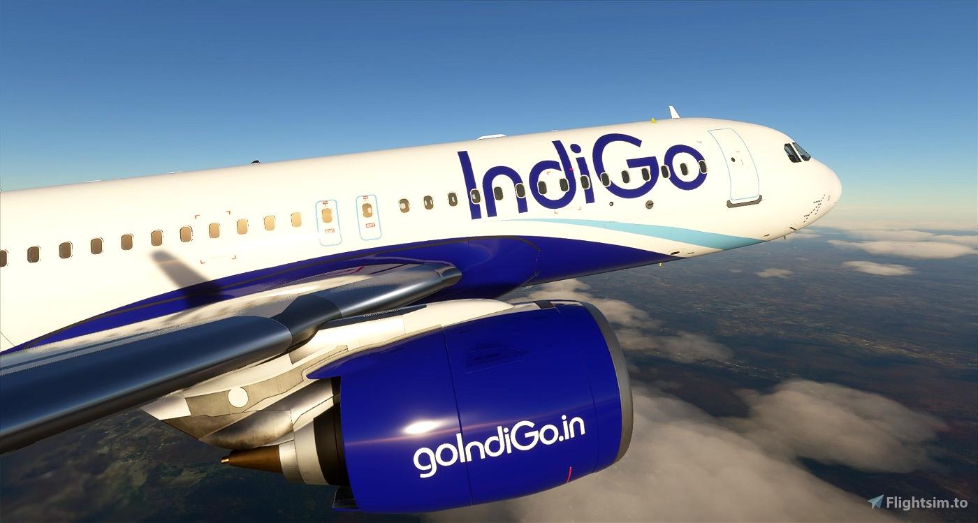 IndiGo - 8K Flight Simulator 2020