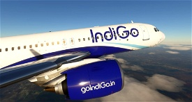IndiGo - 8K Image Flight Simulator 2020