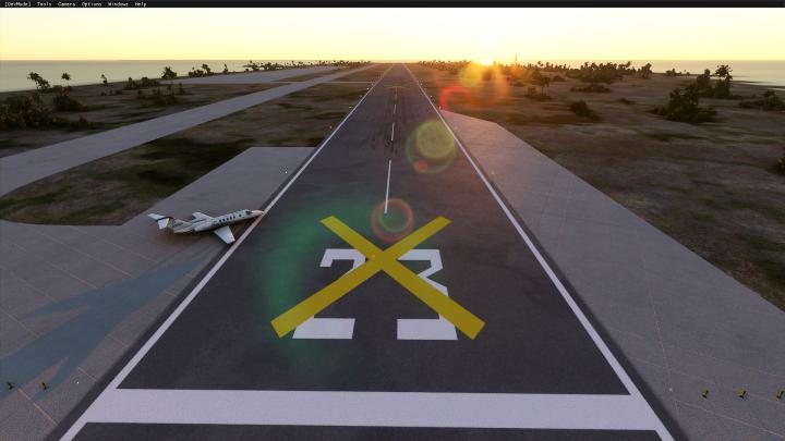 Johnston Atoll Airport - PJON