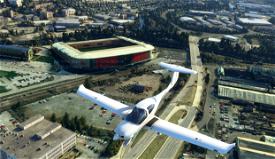 Rotherham United New York Stadium (and Millmoor) Microsoft Flight Simulator