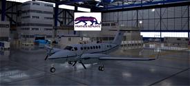 Asobo-KingAir350-USAF [Version 1.10.7.0] Image Flight Simulator 2020
