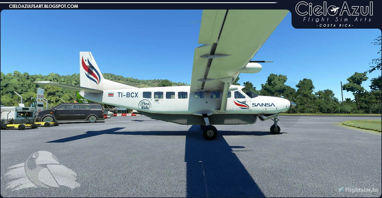 Sansa Regional   Package   Asobo Cessna C208B EX Grand Caravan (8K) Flight Simulator 2020