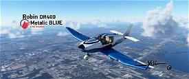 Robin DR400 Metalic BLUE  Image Flight Simulator 2020