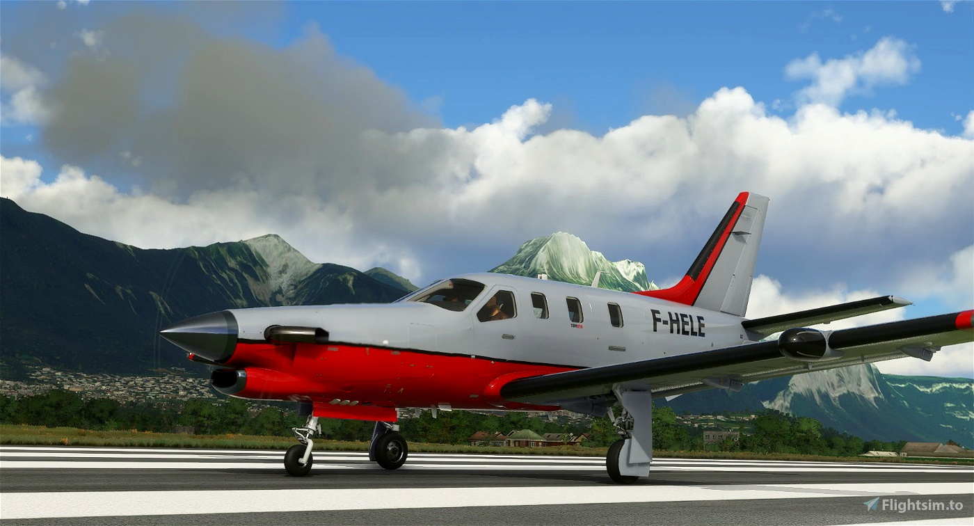 Daher TBM F-HELE Flight Simulator 2020