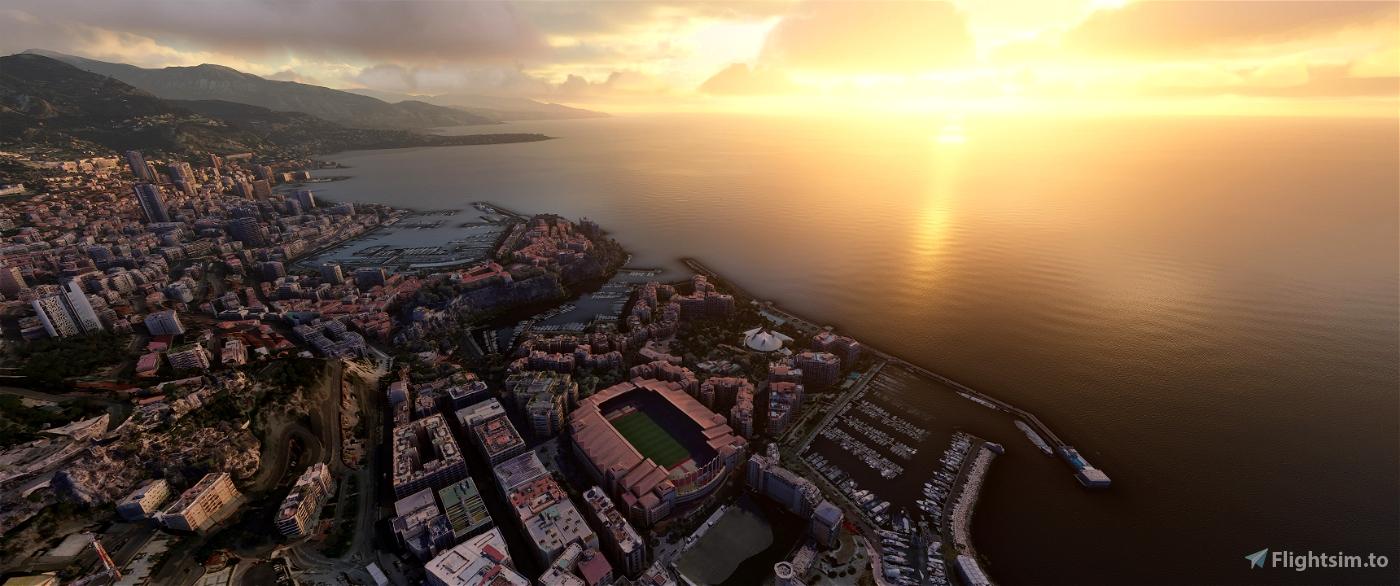 Monaco Microsoft Flight Simulator