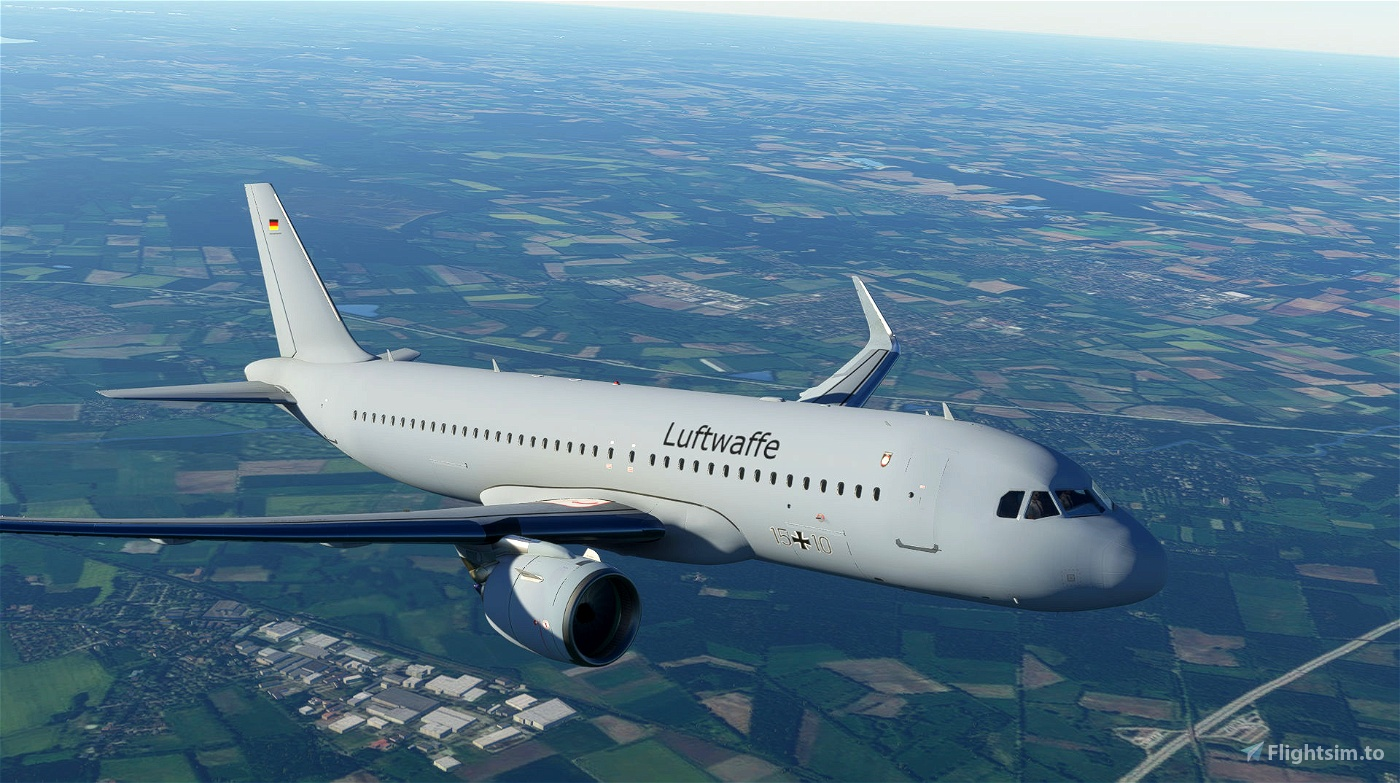 A320 German Airforce Livery