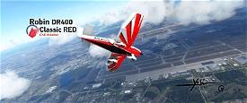Robin DR400 Classic RED Image Flight Simulator 2020