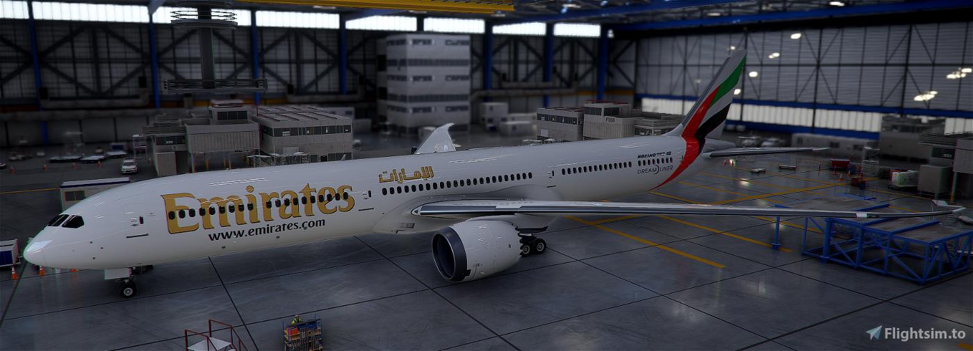 Emirates B78X Flight Simulator 2020