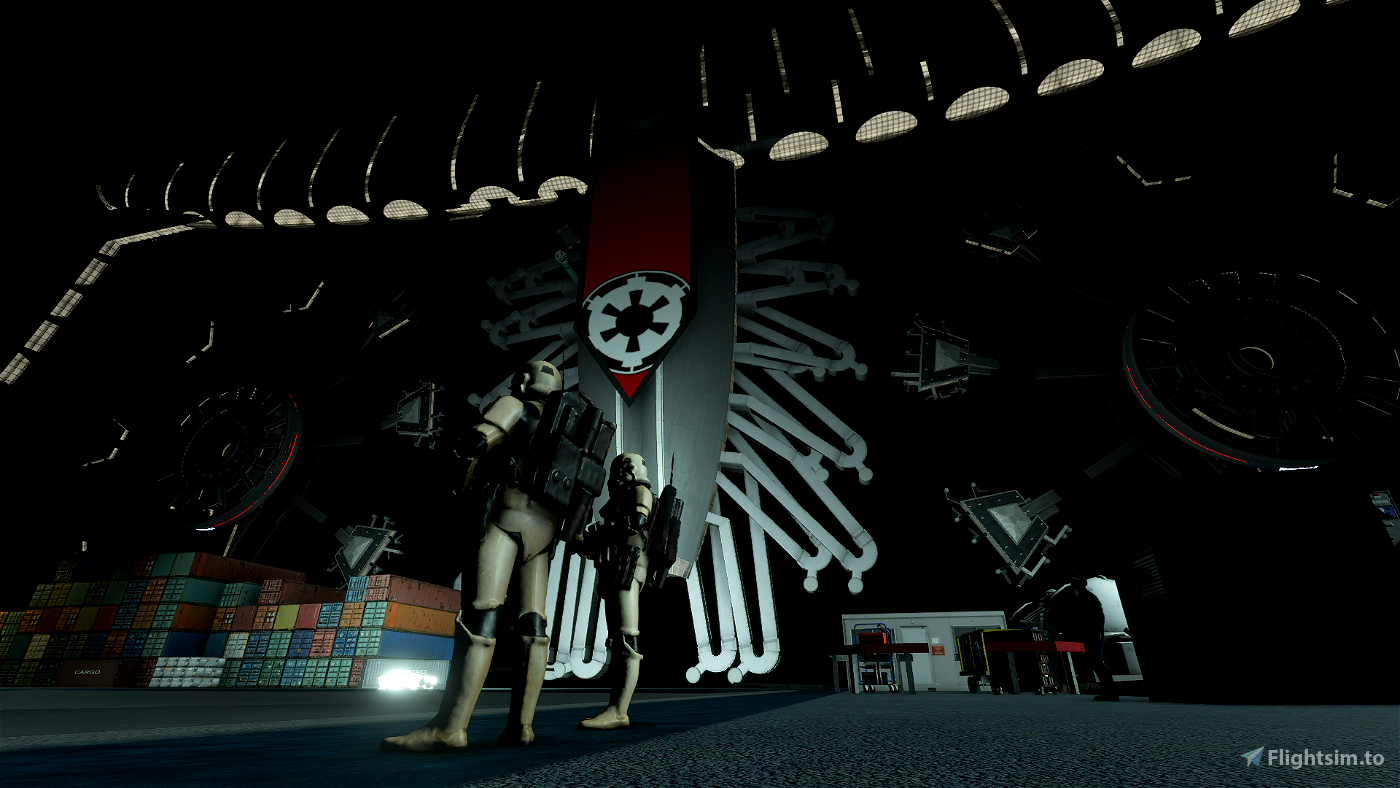Empire Star Destroyer Executor Airport ESDE