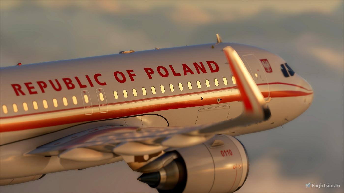 Polish Air Force / Polish Government [patch 5] Flight Simulator 2020