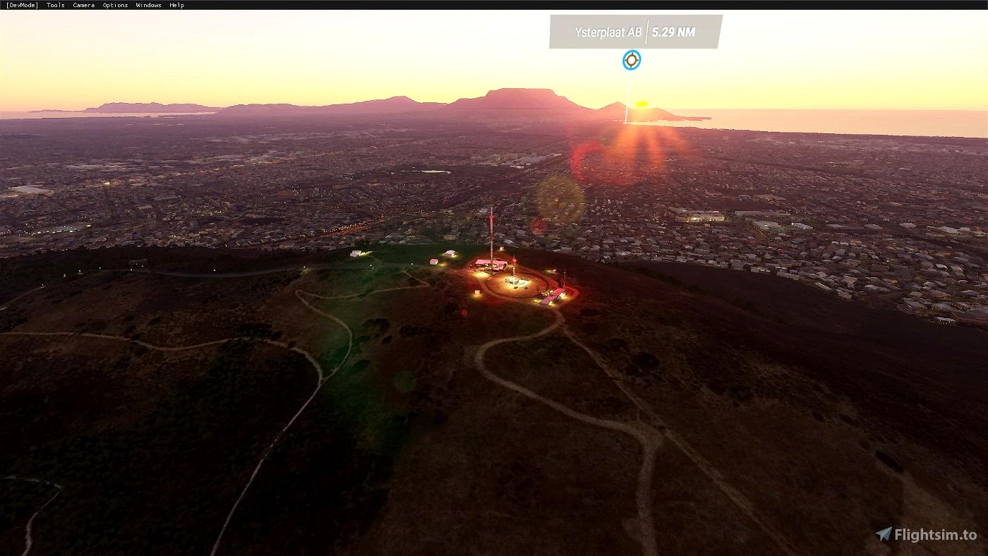Cape Town Tech Towers(Plattekloof) Microsoft Flight Simulator
